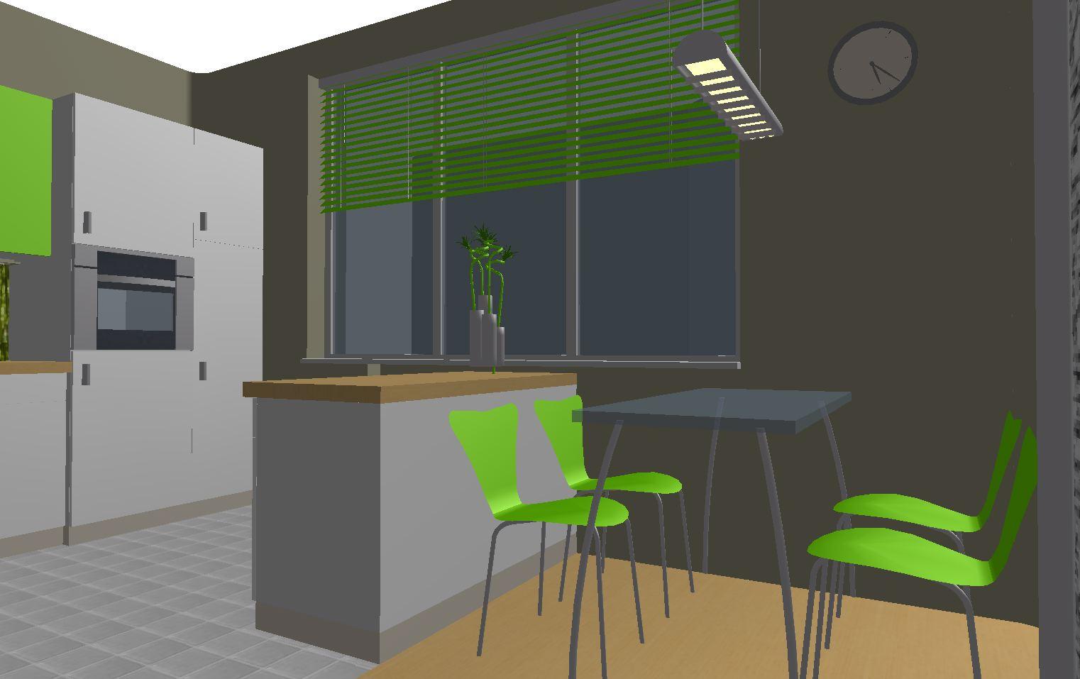 Architekt Pabianice OOO studio Architektura i Design portfolio projekt wnętrza kuchnia 2