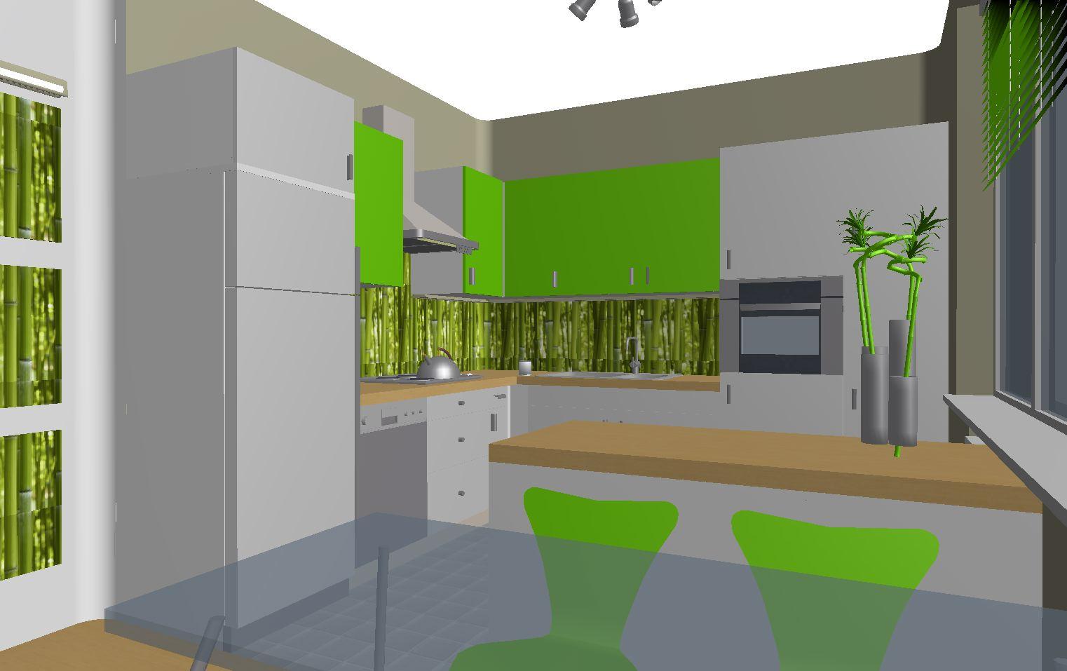 Architekt Pabianice OOO studio Architektura i Design portfolio projekt wnętrza kuchnia 3