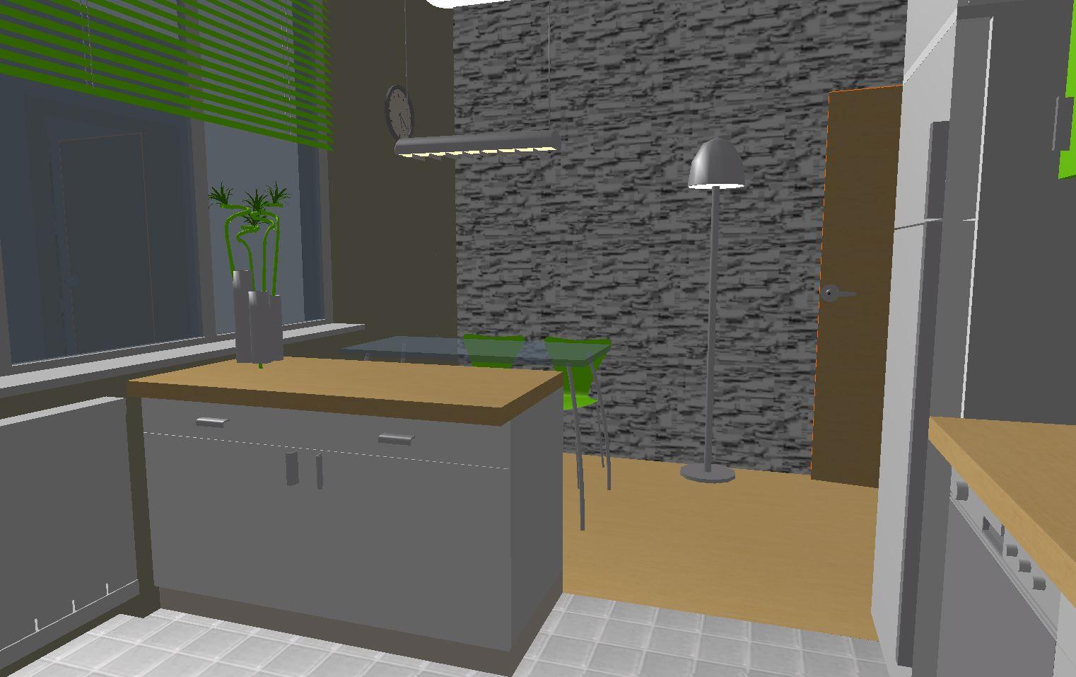 Architekt Pabianice OOO studio Architektura i Design portfolio projekt wnętrza kuchnia 4