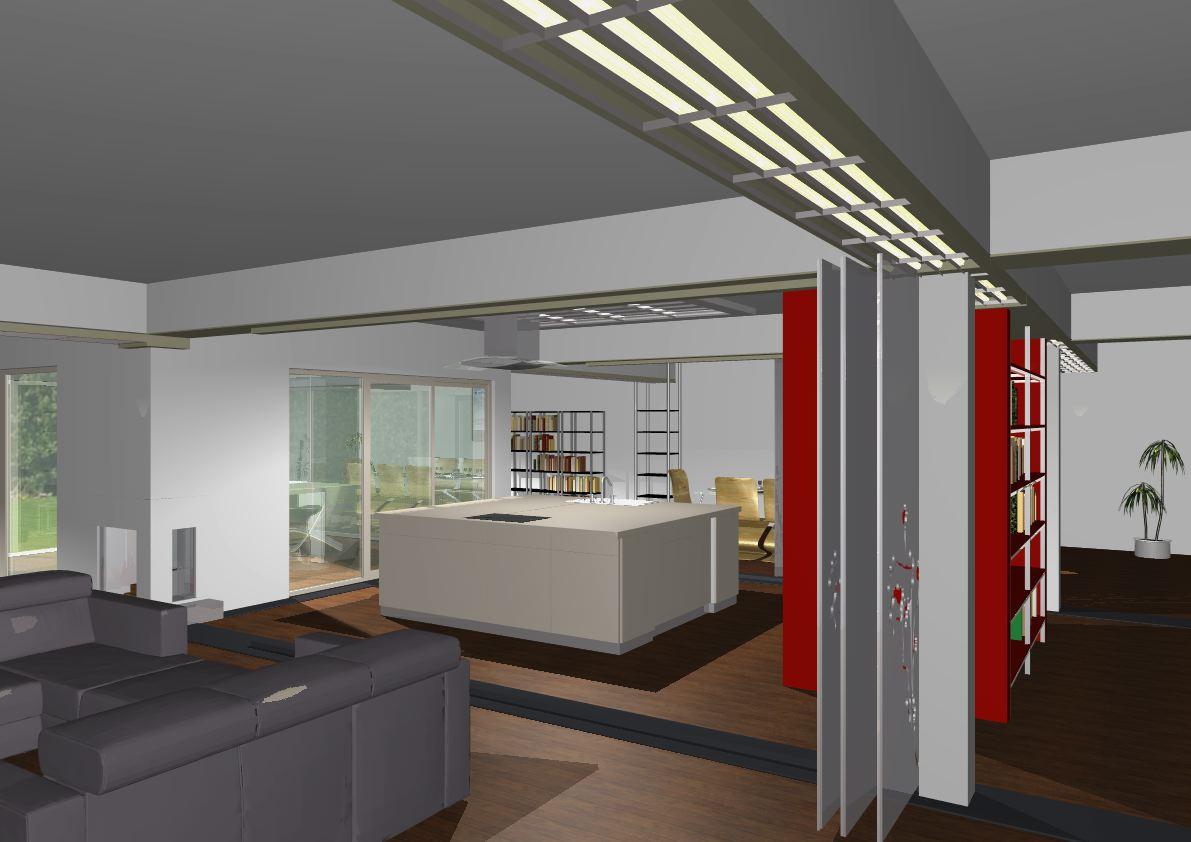 Architekt Pabianice OOO studio Architektura i Design portfolio projekt wnętrza mieszkanie kuchnia 2