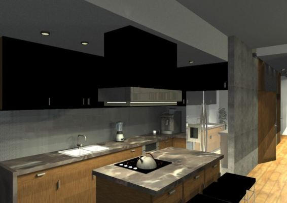 Architekt Pabianice OOO studio Architektura i Design porfolio projekt wnętrza mieszkanie 9