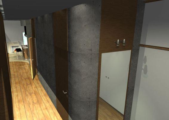 Architekt Pabianice OOO studio Architektura i Design portfolio projekt wnętrza mieszkanie 1