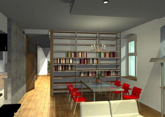 Architekt Pabianice OOO studio Architektura i Design portfolio projekt wnętrza mieszkanie 8