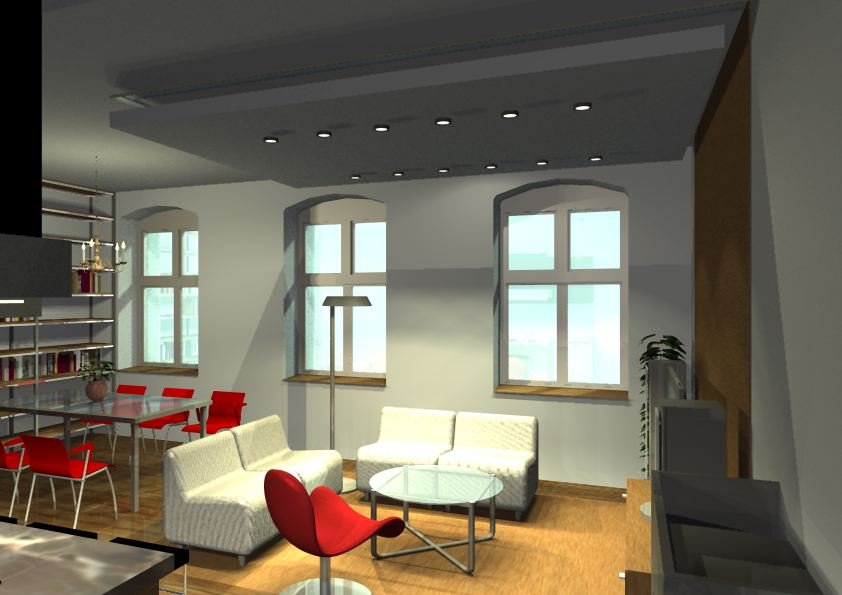 Architekt Pabianice OOO studio Architektura i Design portfolio projekt wnętrza mieszkanie 10