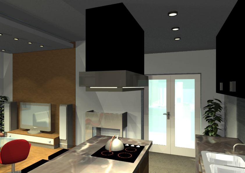 Architekt Pabianice OOO studio Architektura i Design portfolio projekt wnętrza mieszkanie 11