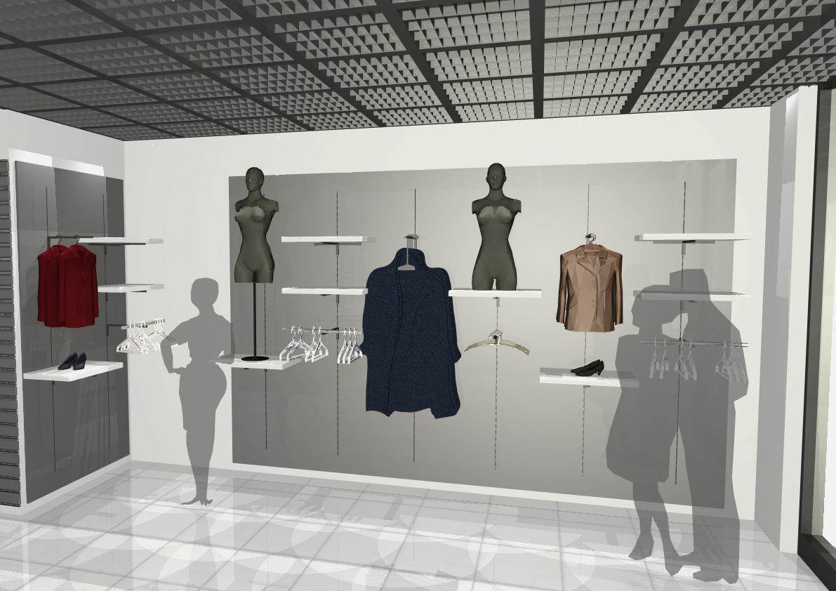 Architekt Pabianice OOO studio Architektura i Design portfolio projekt wnętrza sklep 1