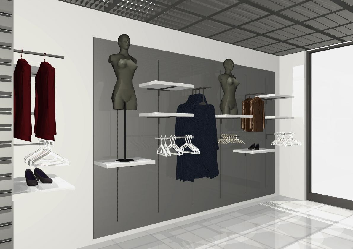 Architekt Pabianice OOO studio Architektura i Design portfolio projekt wnętrza sklep 2
