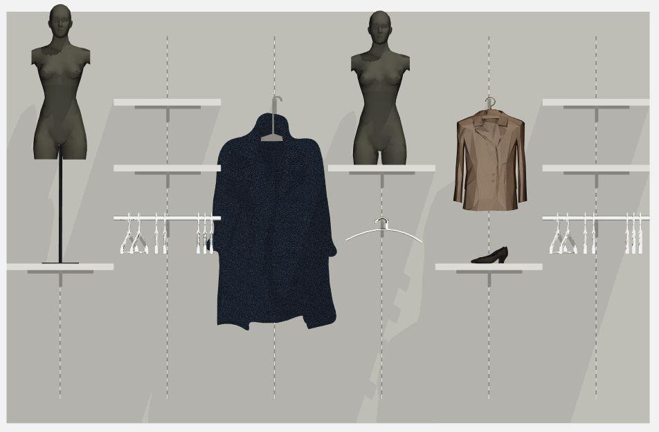 Architekt Pabianice OOO studio Architektura i Design portfolio projekt wnętrza sklep 4