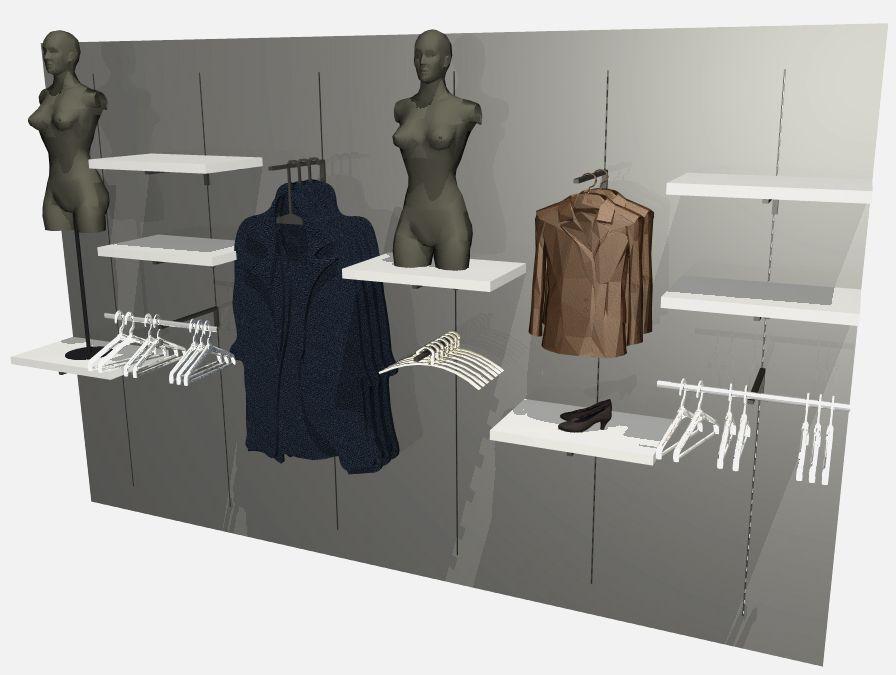 Architekt Pabianice OOO studio Architektura i Design portfolio projekt wnętrza sklep 5