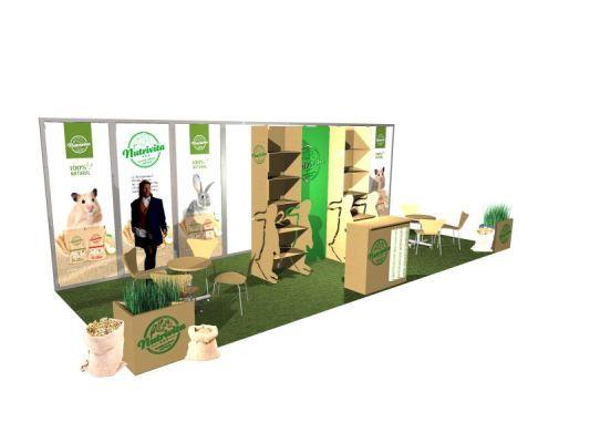 Architekt Pabianice OOO studio Architektura i Design portfolio projekt wnętrza stoisko reklamowe targi 4